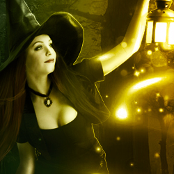 Halloween Night Witch Photoshop Manipulation Tutorial