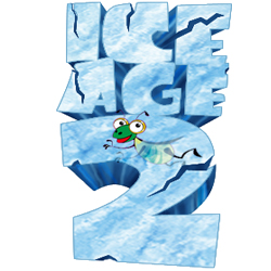 How to Make an Ice Text Logo for Ice Age 2