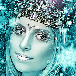 Ice Queen Photoshop Tutorial psd-dude.com Tutorials