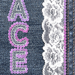 Lace Embroidery Text Effect in Photoshop psd-dude.com Tutorials