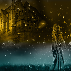 Magic Sparkle Fairy Tale Night Photoshop Tutorial