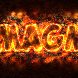 How to Create a Magma or Lava Text Effect in Photoshop psd-dude.com Tutorials