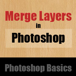 How to Merge Layers in Photoshop psd-dude.com Tutorials