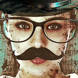Movember Flyer Photoshop Tutorial psd-dude.com Tutorials