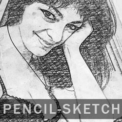 Create a Pencil Photo Sketch in Photoshop psd-dude.com Tutorials