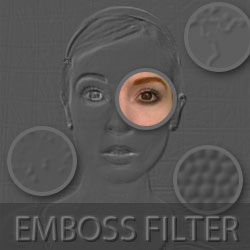 Emboss Photoshop Tutorial