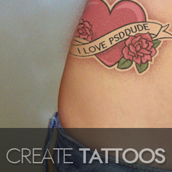 Create a Tattoo in Photoshop psd-dude.com Tutorials
