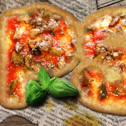 Create a Pizza Food Text Effect in Photoshop psd-dude.com Tutorials
