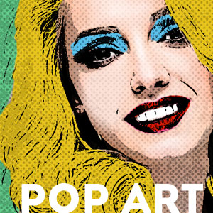 Pop Art Photoshop psd-dude.com Tutorials