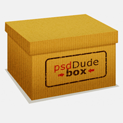 Box Photoshop Tutorial psd-dude.com Tutorials