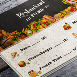 Create a Restaurant Menu Flyer in Photoshop psd-dude.com Tutorials