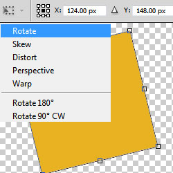 Rotate in Photoshop Basic Tutorial