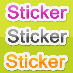 Create a Sticker in Photoshop psd-dude.com Tutorials
