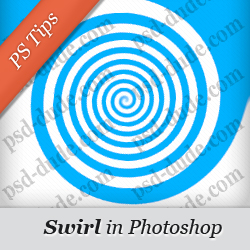 Swirl in Photoshop Tips