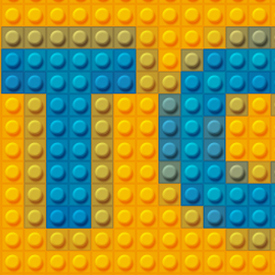 Toybricks Lego Text Effect Photoshop Tutorial