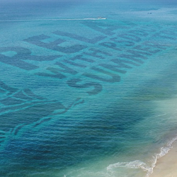 Create Water Text Effect for Summer Postcard in Photoshop