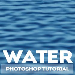 Create <span class='searchHighlight'>Water</span> Texture in Photoshop psd-dude.com Tutorials