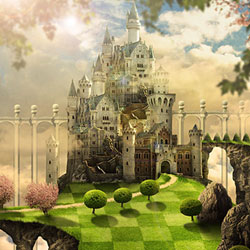 Create a <span class='searchHighlight'>Fantasy</span> Castle in Photoshop Inspired by The Movie Alice ... psd-dude.com Tutorials