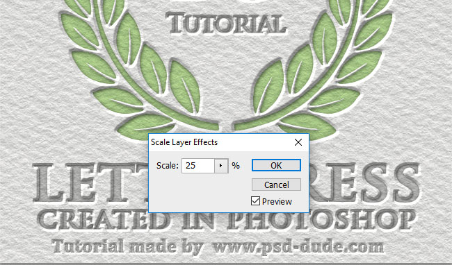 scale layer style in photoshop