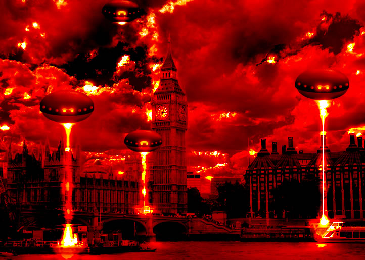 London Alien Invasion - The Apocalypse