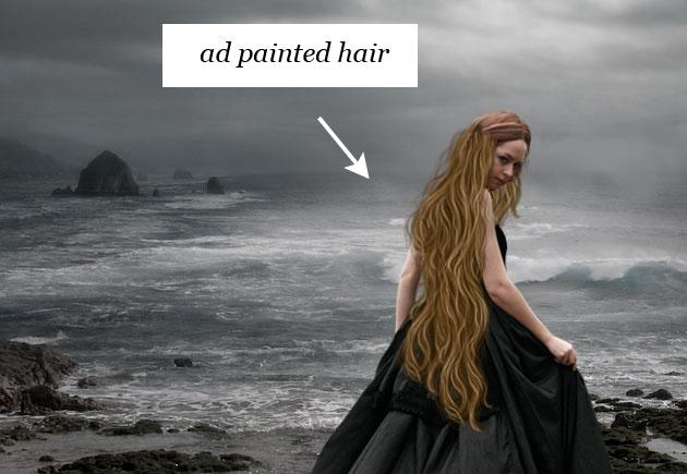 Как в фотошопе добавить волосы