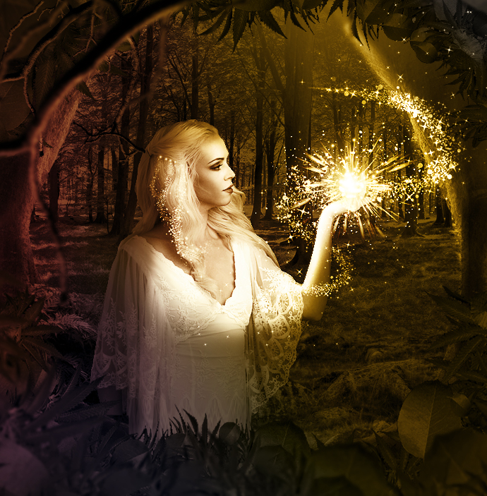 magic fairy dust photoshop tutorial