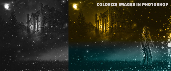 colorize images in photoshop