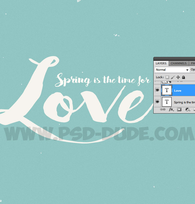 how to set layer as background photoshop