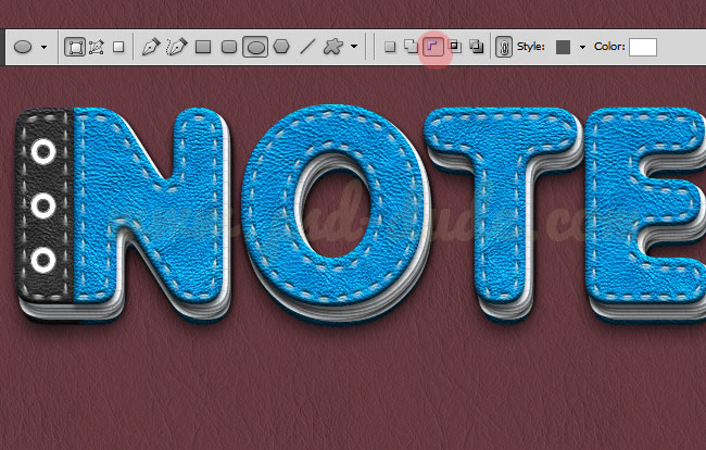 how to make words look like metal in photoshop