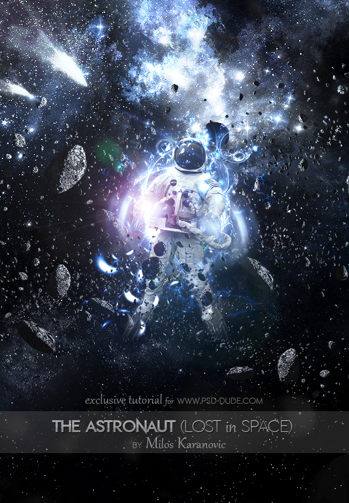 Outer Space Astronaut Photoshop Manipulation Tutorial ...