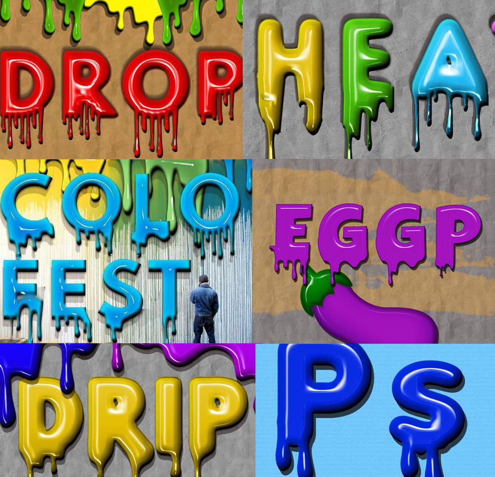 Paint drip text effect in photoshop photoshop tutorial psddude paint drip text effect in photoshop baditri Gallery
