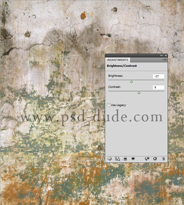 Copy This Written Wall Texture In A New Layer And Change Its Blend Mode To  Lighten To Make The Wall Look More Grungy.