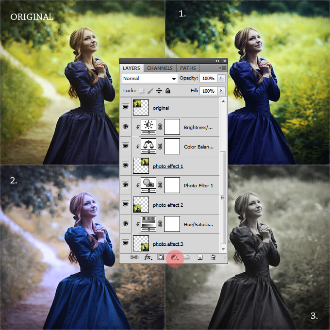 how to add multiple photos in one photo photoshop