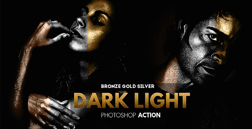 Dark Photo Effect Action for Photoshop
