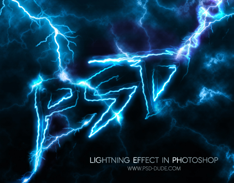 Photoshop Light Text Using The Lightning Creator