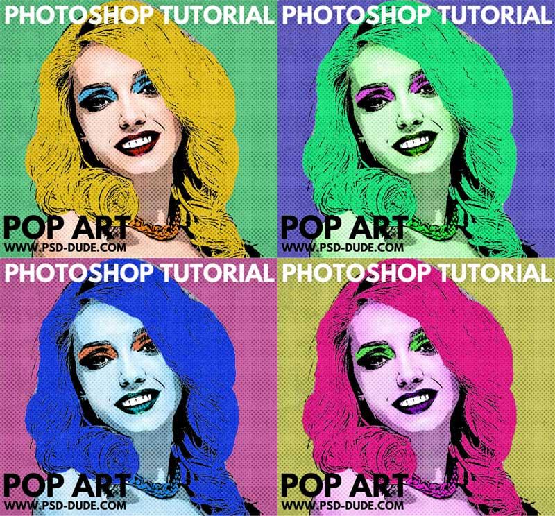 Pop Art Comic Photoshop