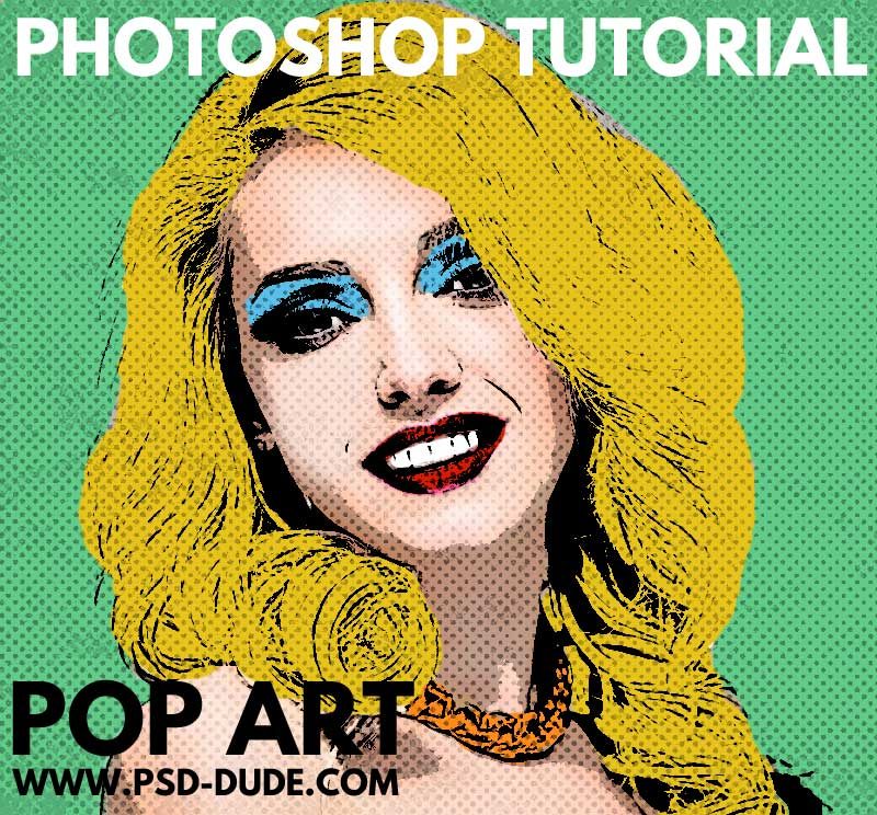Pop Art Warhol Photoshop