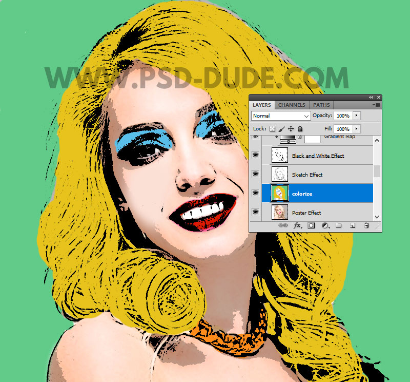 colorize photoshop