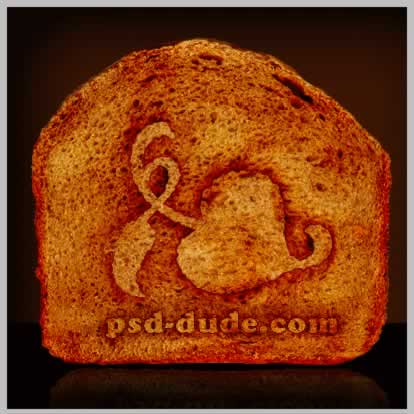 quick-tip-add-a-toasted-logo-to-a-piece-of-bread tutorial intermediary image