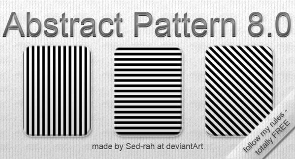 Black Line PS Patterns