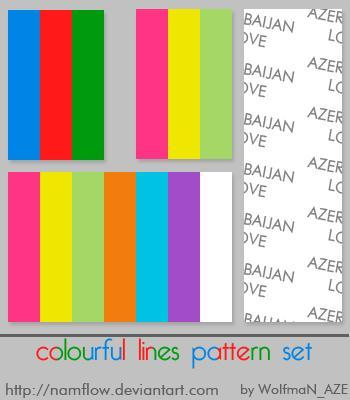 Colorful Line Patterns