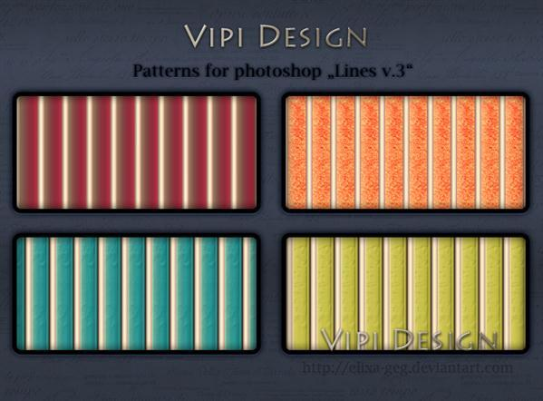 Vertical Lines Photoshop Patterns