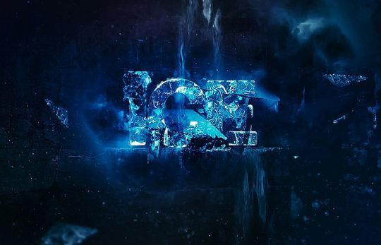 Create abstract chilling ice text effect in photoshop