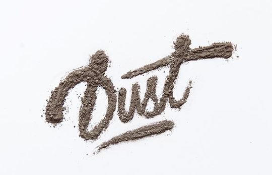 Dirt Typography Text in Photoshop