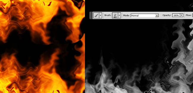Create a Fire Brush in Adobe Photoshop