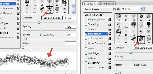 Create Brush in Photoshop Tutorials for Beginners