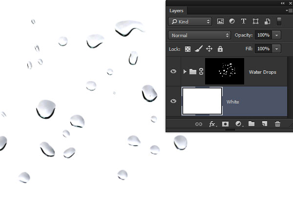 Create Water Drop Brushes Photoshop Tutorial