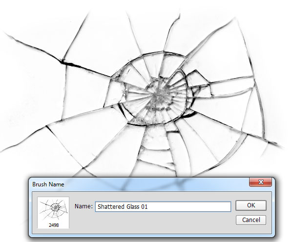 How to Create a Shattered Glass Brush in Adobe Photoshop