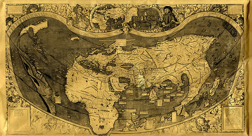 Beautiful Map Of The World.15 Beautiful Old Maps From All Around The World Psddude