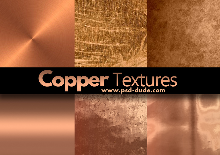 Copper Textures Collection